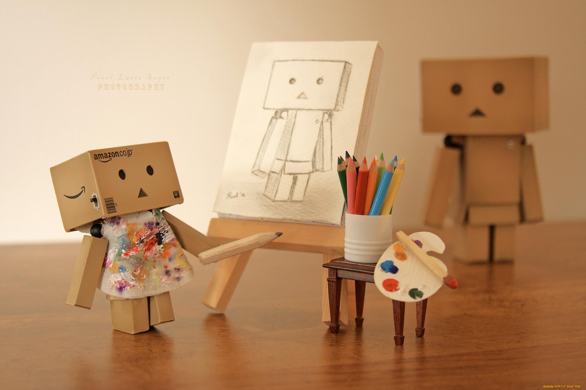 Картинки человечки из картона